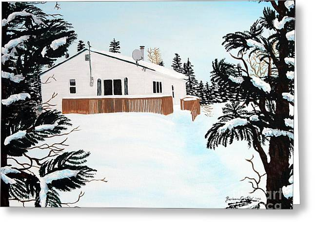 Home Away From Home Greeting Card by Barbara Griffin
