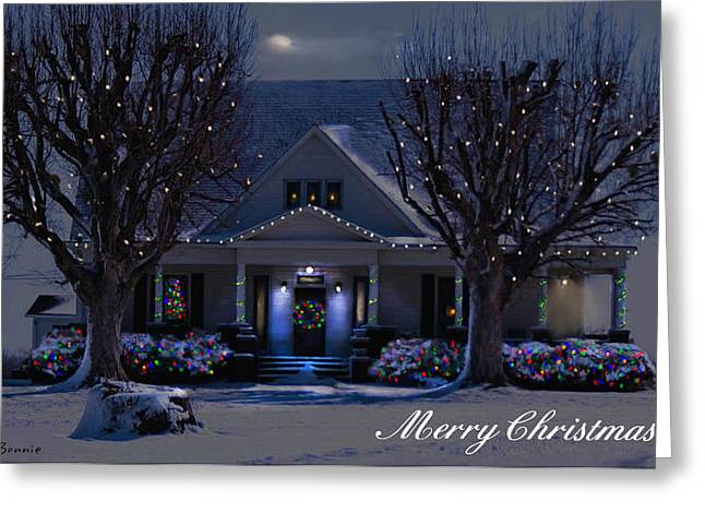 Greeting Card featuring the photograph Home For Christmas by Bonnie Willis