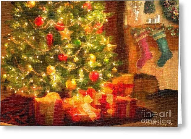 Greeting Card featuring the photograph Home For Christmas by Chris Armytage