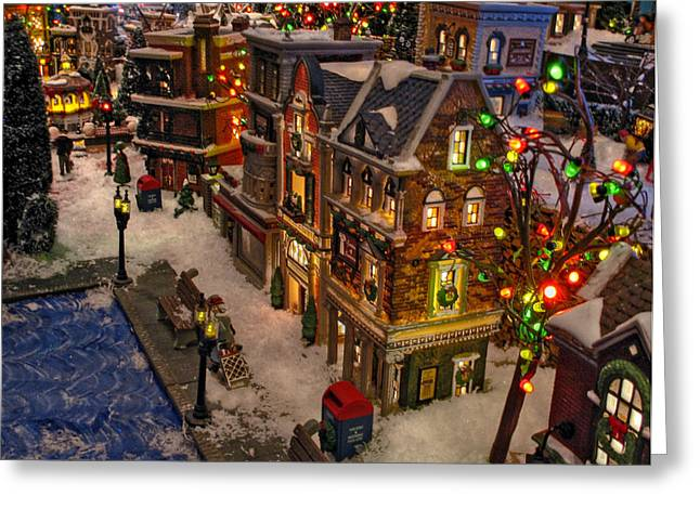 Greeting Card featuring the photograph Home For The Holidays by GJ Blackman