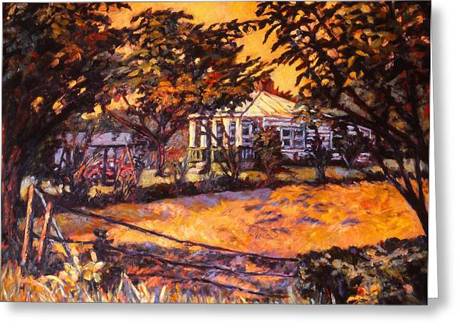 Home In Christiansburg Greeting Card by Kendall Kessler