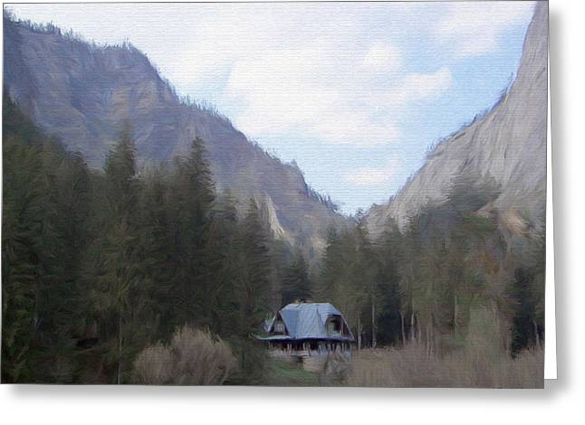 Home In The Mountains Greeting Card by Jeff Kolker