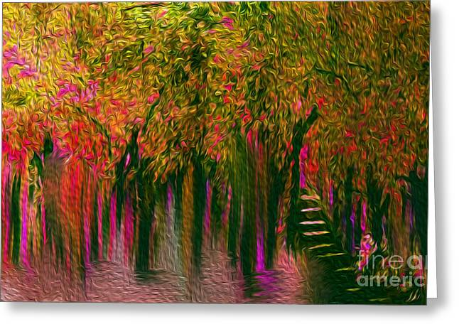 Home Of My Dreams Greeting Card by Sherri  Of Palm Springs
