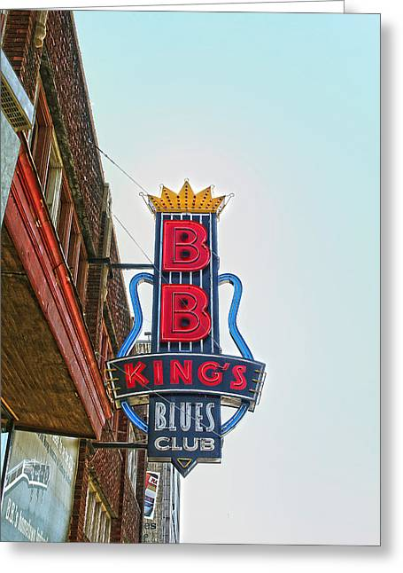 Home Of The Blues Greeting Card by Suzanne Barber