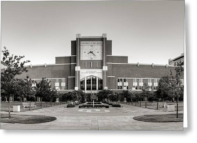 Home Of The Sooners II Greeting Card by Ricky Barnard