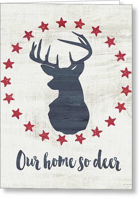 Home So Deer Greeting Card