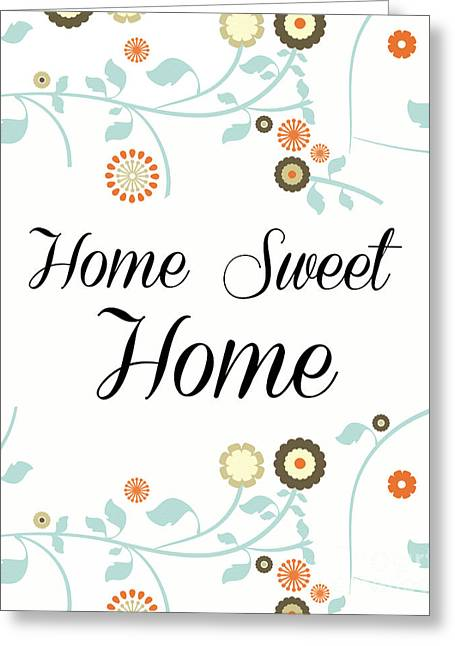 Home Sweet Home Greeting Card by Pati Photography