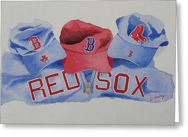 Home Team Greeting Card by Don Hurley
