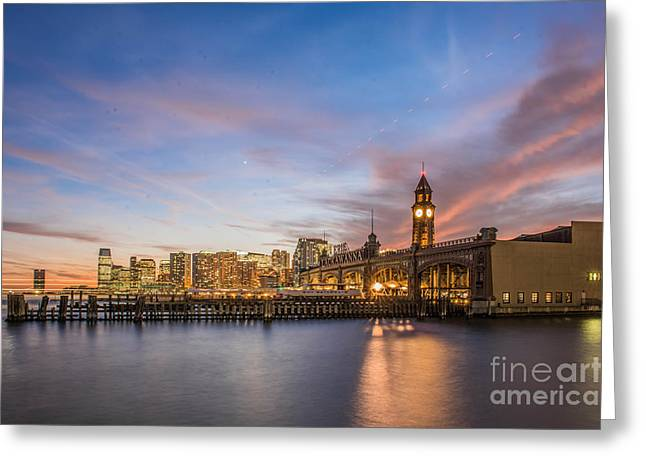 Home To Hoboken Greeting Card