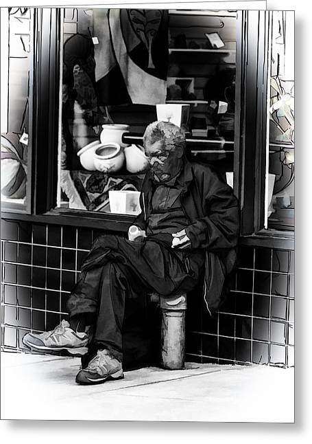 Homelessness Greeting Card