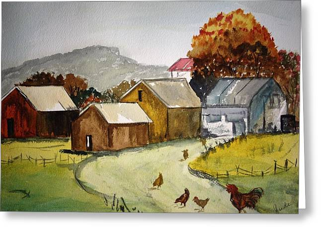 Homestead 2 Greeting Card