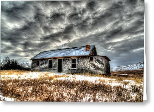 Greeting Card featuring the photograph Homestead 2 by Kevin Bone