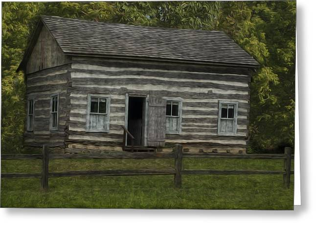 Homestead 3 Greeting Card by Jack Zulli