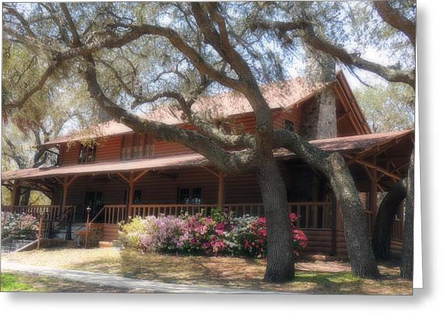 Homestead At Camp Helen Greeting Card by Teresa Schomig