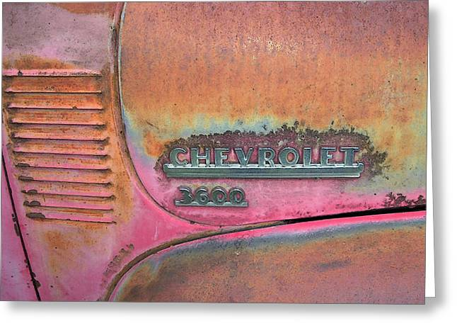 Homestead Chev Greeting Card by Jerry McElroy
