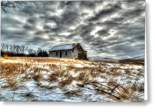 Greeting Card featuring the photograph Homestead by Kevin Bone