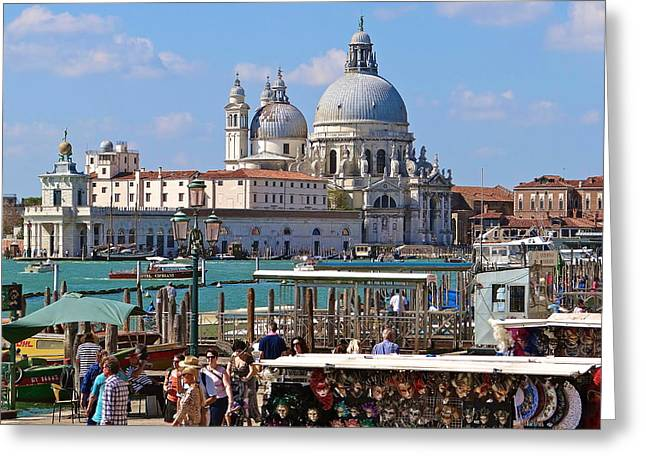 Hommage To Canaletto  Greeting Card