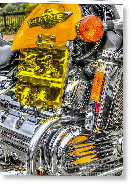 Honda Valkyrie 1 Greeting Card by Steve Purnell