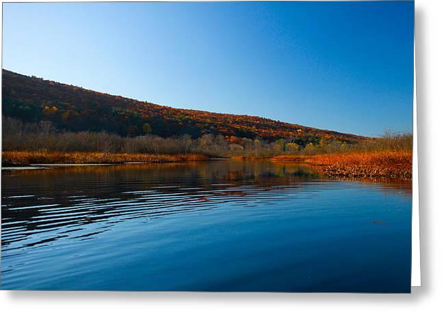 Honeoye Lake Inlet Greeting Card by Steve Clough