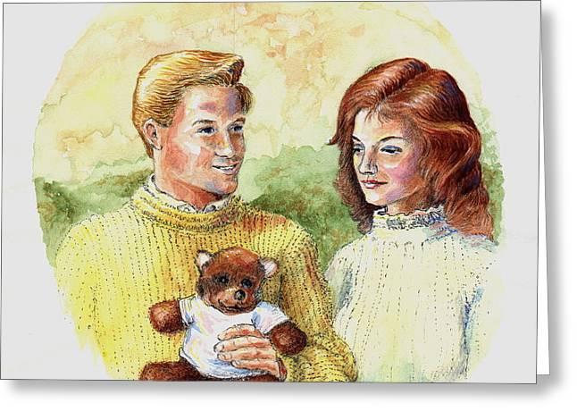 Honey Bear Greeting Card