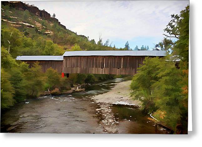 Honey Run Covered Bridge Greeting Card