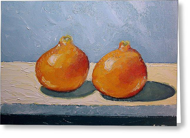 Honeybells - The Perfect Couple Greeting Card by Katherine Miller