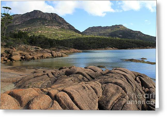 Honeymoon Bay Tasmania All Profits Go To Hospice Of The Calumet Area Greeting Card