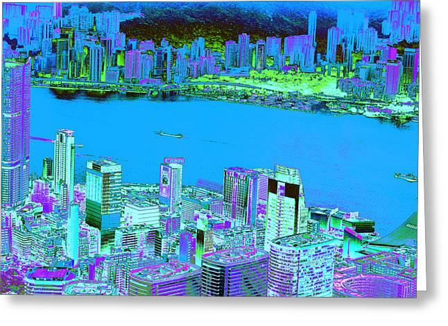 Hong Kong Greeting Card by Product Pics