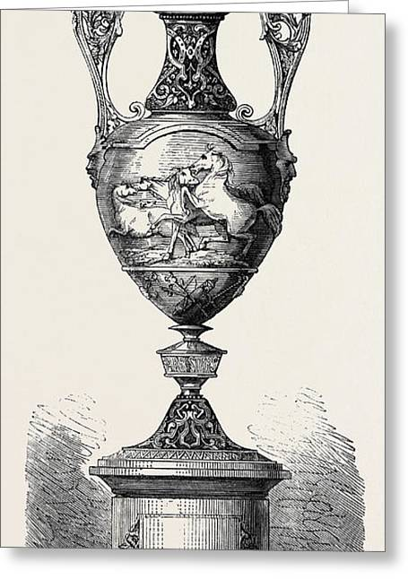 Hong Kong Races The Barristers Cup 1861 Greeting Card