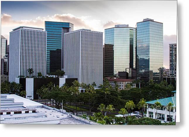 Honolulu Greeting Card