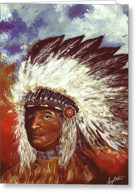 Honorable Chief Greeting Card