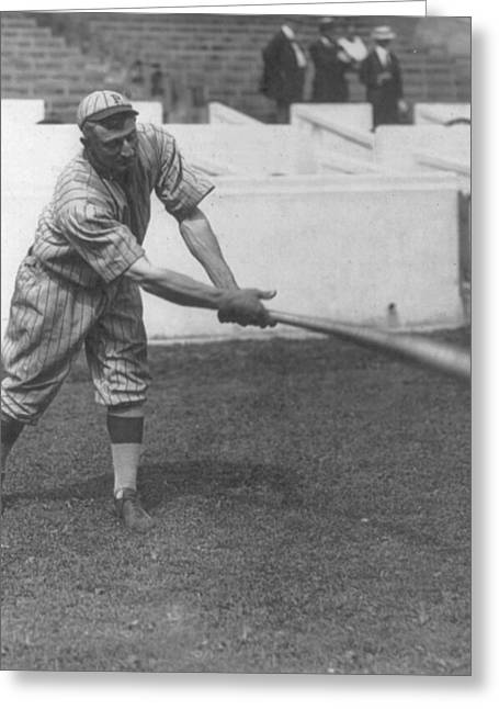 Honus Wagner Greeting Card by Unknown