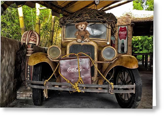 Hood Ornament Bear 2 Greeting Card by Thomas Woolworth