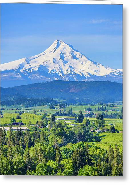 Hood River, Oregon Greeting Card
