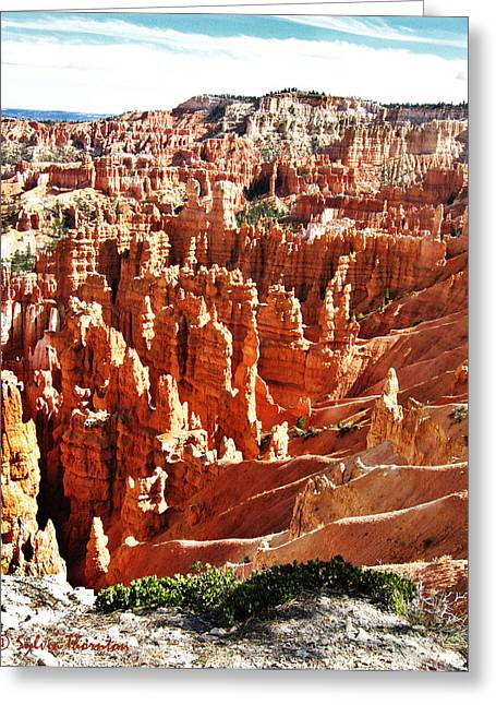 Greeting Card featuring the photograph Hoodoo Magic by Sylvia Thornton