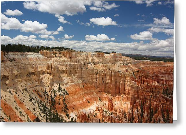 Hoodoos At Bryce Canyon Greeting Card