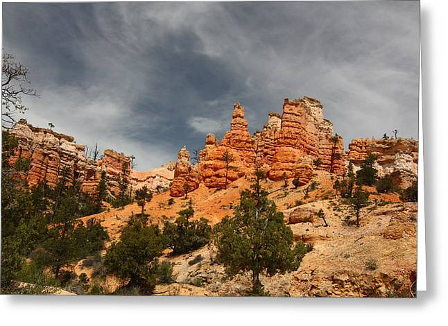 Hoodoos At Mossey Creek Trail Greeting Card