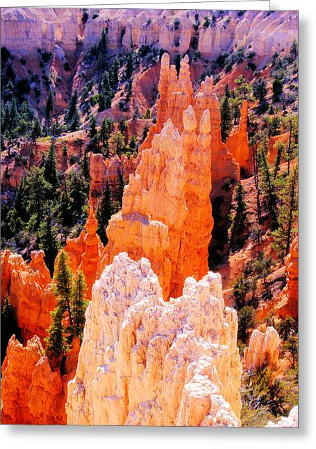 Hoodoos Of Faryland Canyon Greeting Card