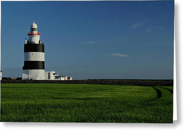 Hook Head Lighthouse Greeting Card by Peter Skelton
