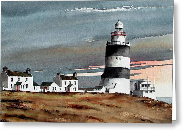 Hook Lighthouse Wexford Greeting Card