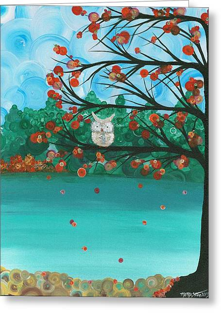 Hoolandia Seasons - Autumn Greeting Card
