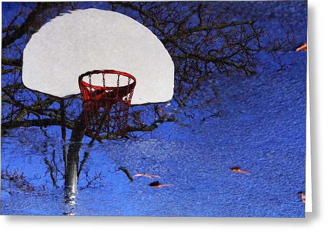 Hoop Dreams Greeting Card by Jason Politte
