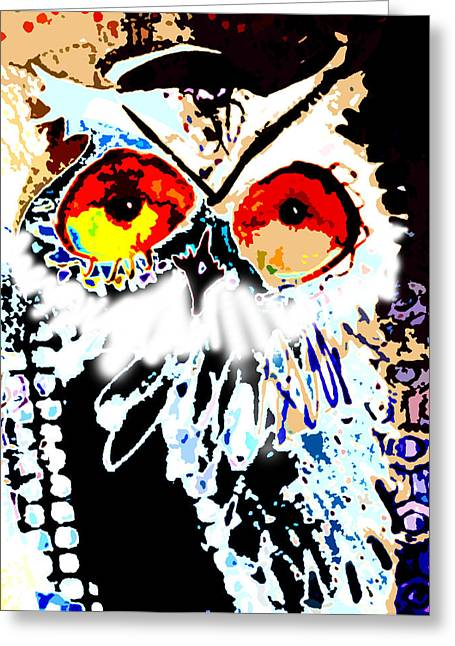 Hoot Digitized Greeting Card