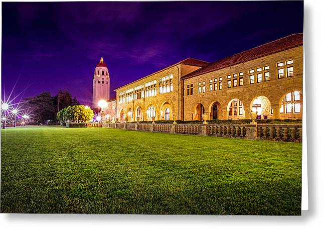 Hoover Tower Stanford University Greeting Card