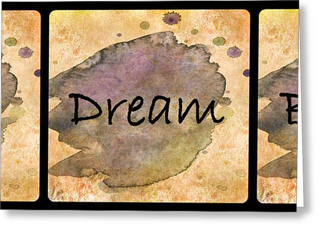 Hope Dream Believe Greeting Card by HH Photography of Florida