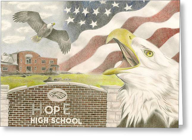 Hope High School Greeting Card