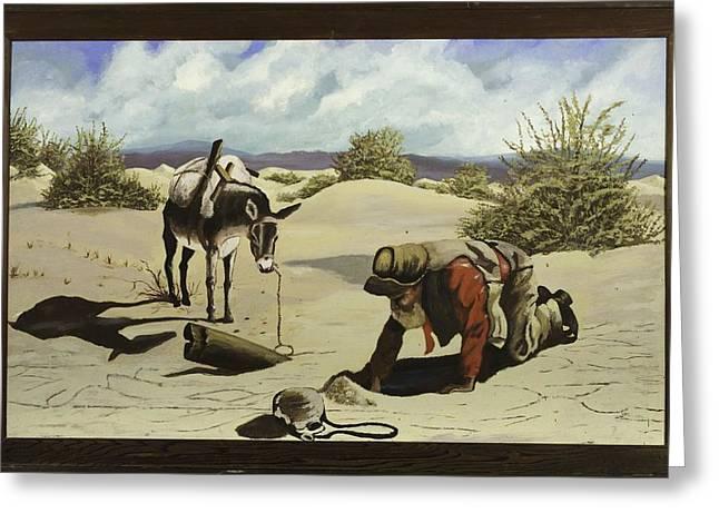 Hope In The Desert Greeting Card