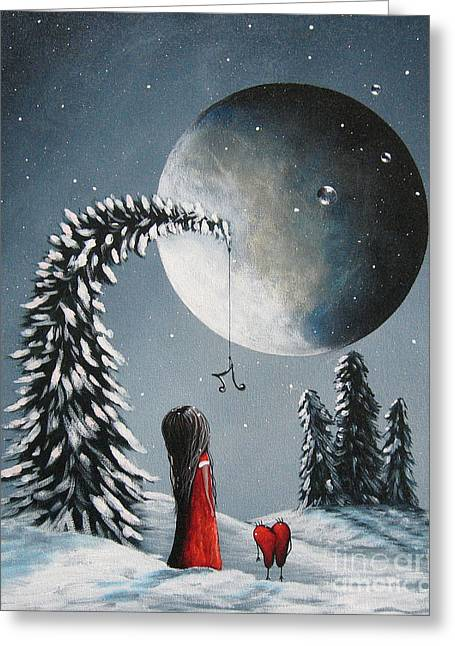 Hope Is On Her Way By Shawna Erback Greeting Card