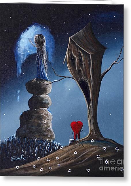 Hope Still Lives Here By Shawna Erback Greeting Card by Shawna Erback