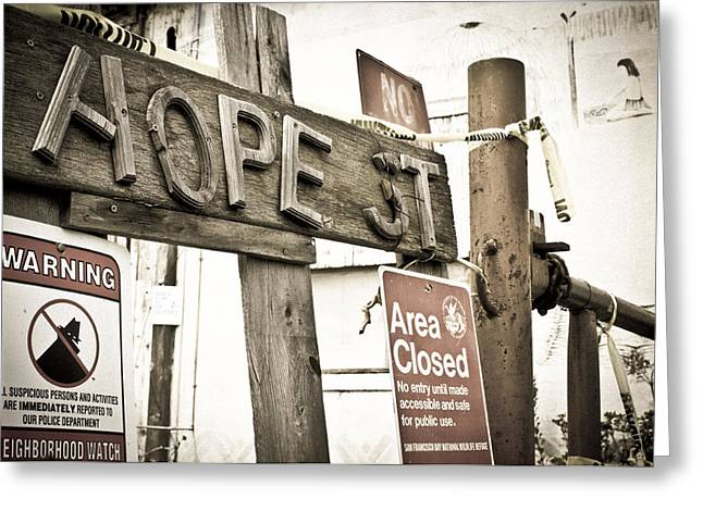 Hope Street Greeting Card